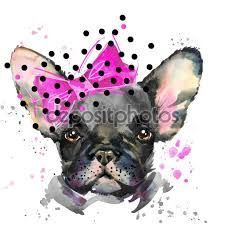 Resultado de imagen para serigrafia bulldog frances