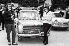Austin - Moss & Wisdom RAC rally o/h in class - 1960 Monte Carlo rally o/h ladies cup Vintage Racing, Vintage Cars, Classic Mini, Classic Cars, Monte Carlo Rally, Austin Healey Sprite, Monaco Grand Prix, Rally Car, Car And Driver