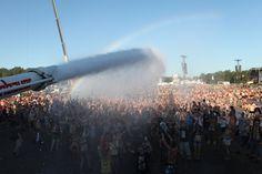 Bardzo upalny Woodstock Festiwal #woodstock2013 Woodstock Poland, Campsite, Niagara Falls, Concert, Nature, Travel, Camping, Naturaleza, Viajes