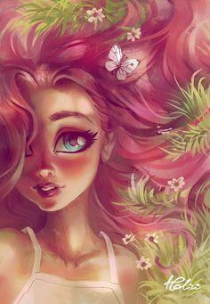 Fluttershy by Holivi on DeviantArt Cute Girl Drawing, Cartoon Girl Drawing, Cartoon Girls, Art Disney, Disney Kunst, Art Anime Fille, Anime Art Girl, Girly Drawings, Disney Drawings