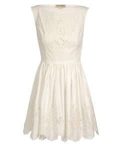 eyelet dress | chloe sevigny for opening ceremony