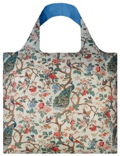 27ea0ea945d Amazon.com: LOQI Anonymous Wall Hanging Peacocks and Peonies Bag: Kitchen  &
