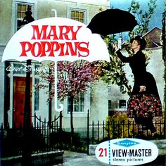disney's mary poppins Viewmaster