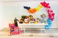 Festa Heróis e Princesas | Macetes de Mãe Desserts, Baby Boys, Ideas, Princesses, Bebe, Tailgate Desserts, Deserts, Postres, Dessert