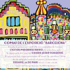 """Despedida exposición """"BARCELONA"""" por el artista emergente Ignasi Miralbell Riera, óleos y ilustraciones de Barcelona!! Sábado 31 de mayo!!!"""
