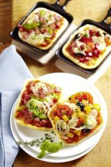 Raclette-Pizza