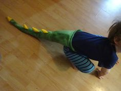 Dinosaur/ Dragon Tail PICK YOUR COLOR by by HuggableEarth on Etsy