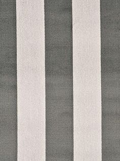 DecoratorsBest - Detail1 - GPJ BF10428-930 - ASTLEY STRIPE VELVET GREY/STONE - Fabrics - DecoratorsBest