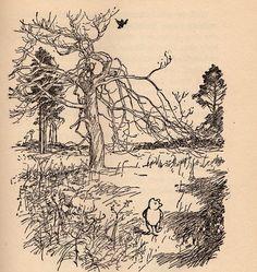 Ernest H. Shepard. Winnie the Pooh <3