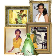 """Princess Tiana"" by trina-luvs-u-henley on Polyvore"