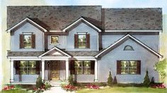 Schumacher Homes | House Plan Detail - Baldwin 3,189 sq feet