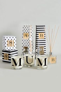 Every mum loves their home smelling lovely which is why these stylish diffusers and candles from Next would definitely make her Mother's Day! And you can make it personal by choosing a letter or word that means something to you. What would you spell out?