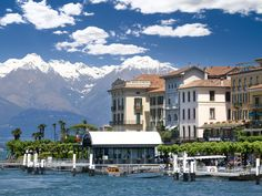 When you first think of Bellagio and Lake Como, you probably think of the Vegas casino and George Clooney, respectively. The actual town of Bellagio, jetting out into this beautiful Italian lake with the Alps in the distance, is what has inspired the rich and famous to erect hillside villas there.
