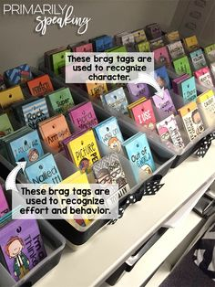 Brag Tags {Tips & Tricks} | Primarily Speaking