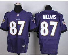 Baltimore Ravens 87 Willams Purple 2015 Nike Elite Jersey