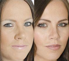 Most common makeup mishaps.