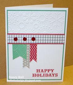 CTMH Christmas card idea