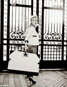 ☆ Diane Kruger | Photography by Ellen von Unwerth | For Tatler Magazine Russia | April 2014 ☆ #Diane_Kruger #Ellen_von_Unwerth #Tatler #2014