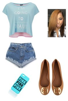 """""""At the park"""" by zendaya090 ❤ liked on Polyvore featuring South Beach, Tory Burch, women's clothing, women, female, woman, misses and juniors"""