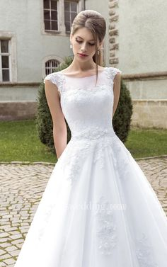 Shop affordable A-line Illusion Back Appliques Sleeveless Dress at June Bridals! Over 8000 Chic wedding, bridesmaid, prom dresses & more are on hot sale. Bridal Dresses, Wedding Gowns, Prom Dresses, Plus Size Prom, Yes To The Dress, Wedding Dress Shopping, Chic Wedding, Wedding Ideas, Old Women
