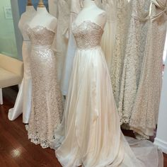 I would like to wear the #Fawn #weddingdress by #ModernTrousseau until the end of time. xo | via Carly is Inspired
