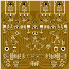 Amplificador com Bias Automático com CI - Electronics Projects, Electronic Circuit Projects, Hobby Electronics, Amplificador 12v, Circuit Board Design, Hifi Amplifier, Electronic Schematics, Powered Subwoofer, Circuit Diagram
