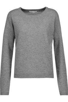 DUFFY WOMAN CASHMERE SWEATER GRAY. #duffy #cloth #
