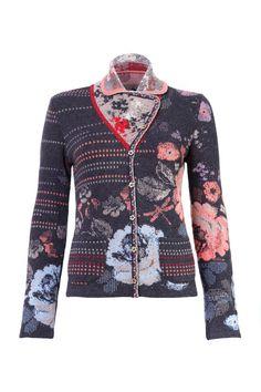 Jacket with Shawl Collar - Jacket | Ivko Woman