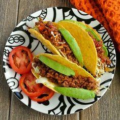 Mexican Sloppy Joe Tacos ~ http://veganinthefreezer.com