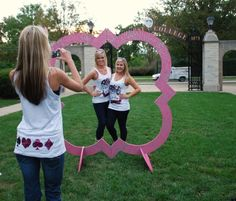 We should make this for rush week or something to take pics outside of the house