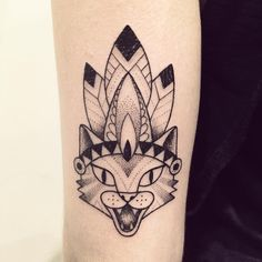 Merci Sister ❤️ @mariannechab #cat #indien #tattoo #violette #bleunoir…