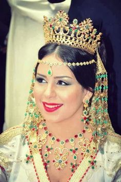 Moroccan Bride Rabatya