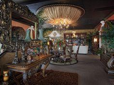 Custom LUXE Vignette. LUXE Gallery Showroom. Tampa, FL.