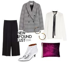 The checkered blazer is here to stay. Fall outfits, fall trends, checkered blazer.