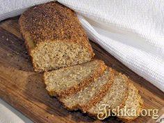 отрубной хлеб без муки диета Дюкана рецепт с фото