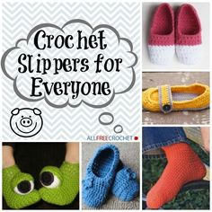 Find some time in your busy day to crochet slippers. This is the best way to keep your feet nice and warm during any time of year. Crochet socks and slippers are easy to make and will keep your little piggies happy.