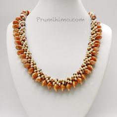 Unusual new beads for Kumihimo