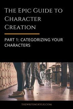 The Epic Guide to Character Creation, Part 1: Categorizing Your Characters Writer Tips, Book Writing Tips, Writing Quotes, Writing Resources, Writing Help, Writing Prompts, Writing Ideas, Novel Tips, Writing Guide