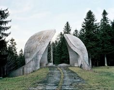 Spomenik - abandoned Soviet sculpture