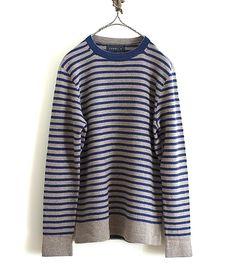 tsuki.s カシミヤセーブルボーダーニット http://floraison.shop-pro.jp/?pid=81366760