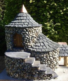 Who could be living in this magical fairy castle?