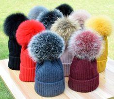 Cute Magic Pink Unicorn Unisex Fashion Knitted Hat Luxury Hip-Hop Cap