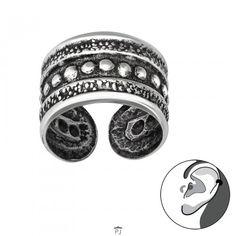 Oorbellen - Earcuff - Bali - Oormanchet - 925 Sterling Zilver