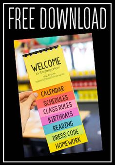 I create a colorful parent flip book as a guide for my classroom parents in the fall. Get a free flip book template AND enter to win Astrobrights paper!