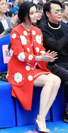 Li Bingbing, Chinese Actress, Asian Woman, Pretty Woman, Asian Beauty, Peplum Dress, Fashion Show, Beautiful Women, Actresses