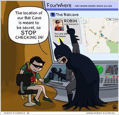 Robin! No! #marketinghumor #marketing