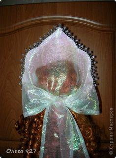 Мастер-класс Новый год Шитьё Мои работы + МК по изготовлению кокошника Бусины Пайетки Сутаж тесьма шнур Ткань фото 26