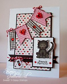 Cute Critters & Bottom of My Heart (tag sentiment)-Sweet 'n Sassy Stamps - bjl