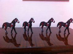 X4 Playmobil Western Indians Klicks Custom Horses Stable Rare Toys Lot New 2015 #PLAYMOBIL #ebay