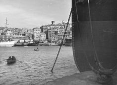 Il Porto di Genova, anni '30.